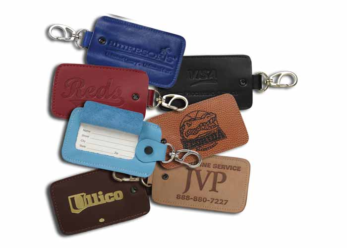 7521 - Snap On Luggage Tag